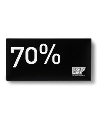 Rajola de xocolata negra amb 70% de cacau
