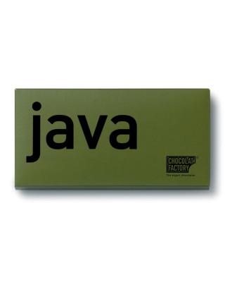 Tableta de chocolate con leche Java