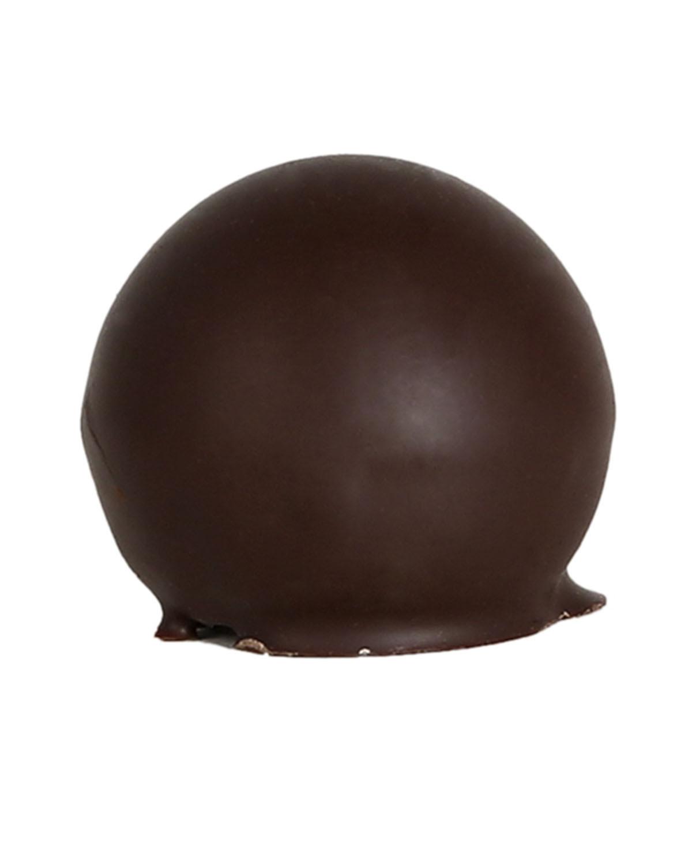 Whisky truffle with dark chocolate