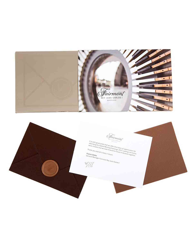 The envelope personalizado