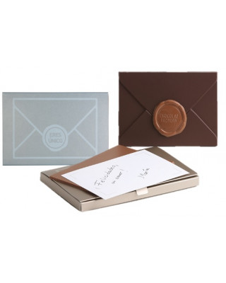 The envelope: chocolate letter